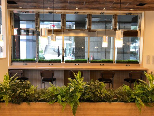 飲食店(カフェ)の内装工事事例